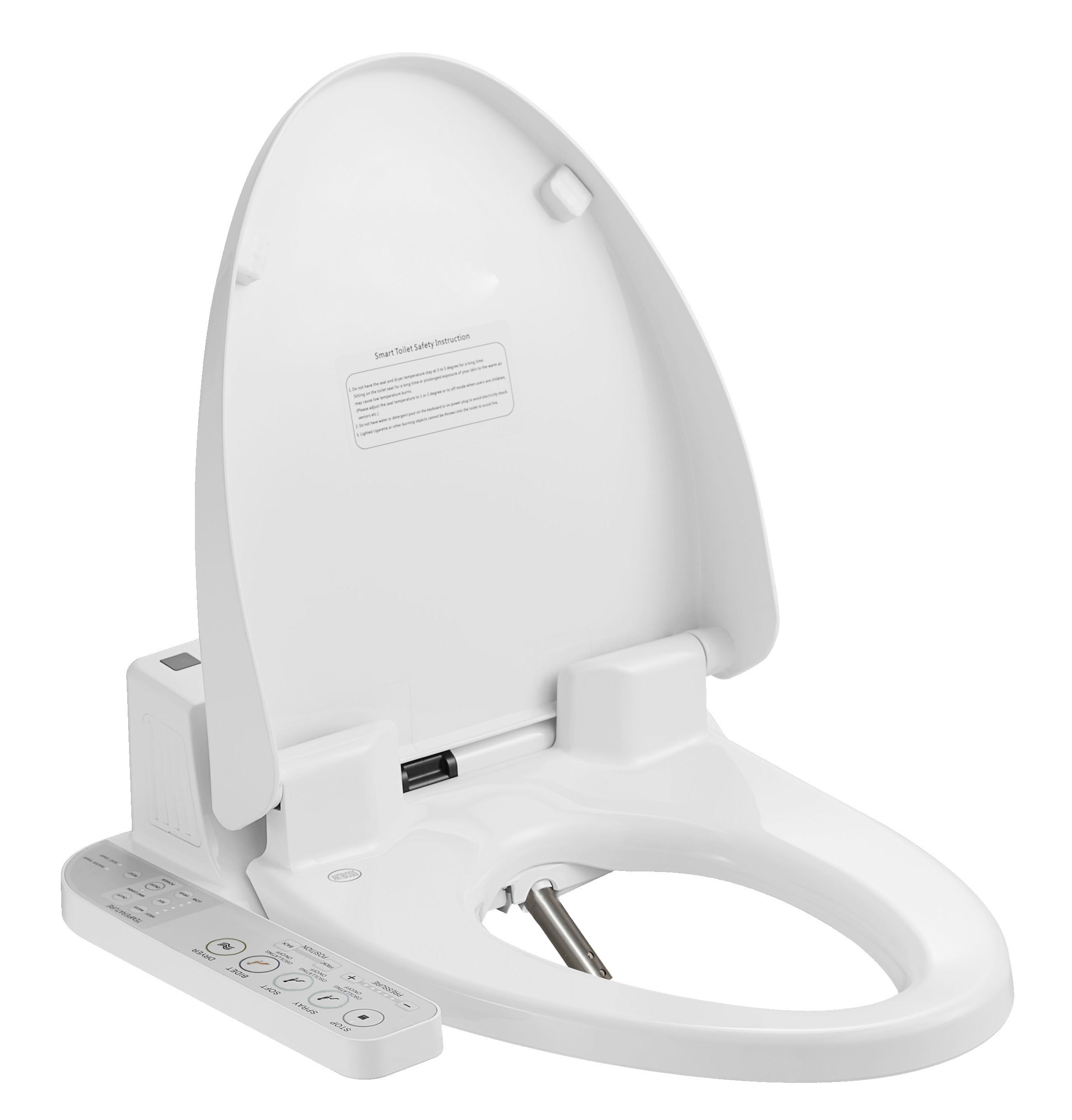 Soft Close Heated Water Cleaning Hyundai Bidet Toilet Seat Zjf 01 Buy Heated Electric Toilet Seat Water Spray Toilet Seat Intelligent Washlet Product On Alibaba Com