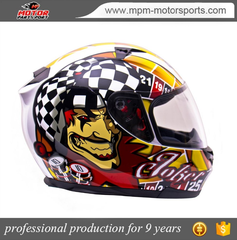 Custom Full Face motorcycle Helmet With ECE