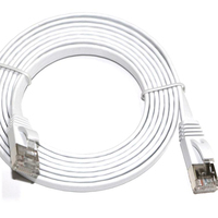 Factory Price High Quality ethernet cable Flat Shield Cat7 Patch Cord Cable