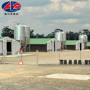 Steel Frame Designs Poultry Barns for Sale