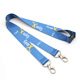 China Cheap Wholesale Dye Polyester Sublimation Printing Lanyards With metal hook