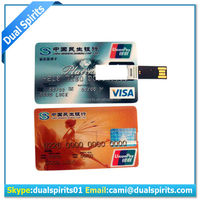 2016 credit card usb flash drive,bulk 2GB 4gb 8gb usb flash drive manufacturers,business card usb stick for promotion suppliers