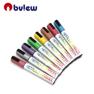 Dustless Water Based Set of 12 Liquid Chalk Markers for Chalk Boards Glass Whiteboard