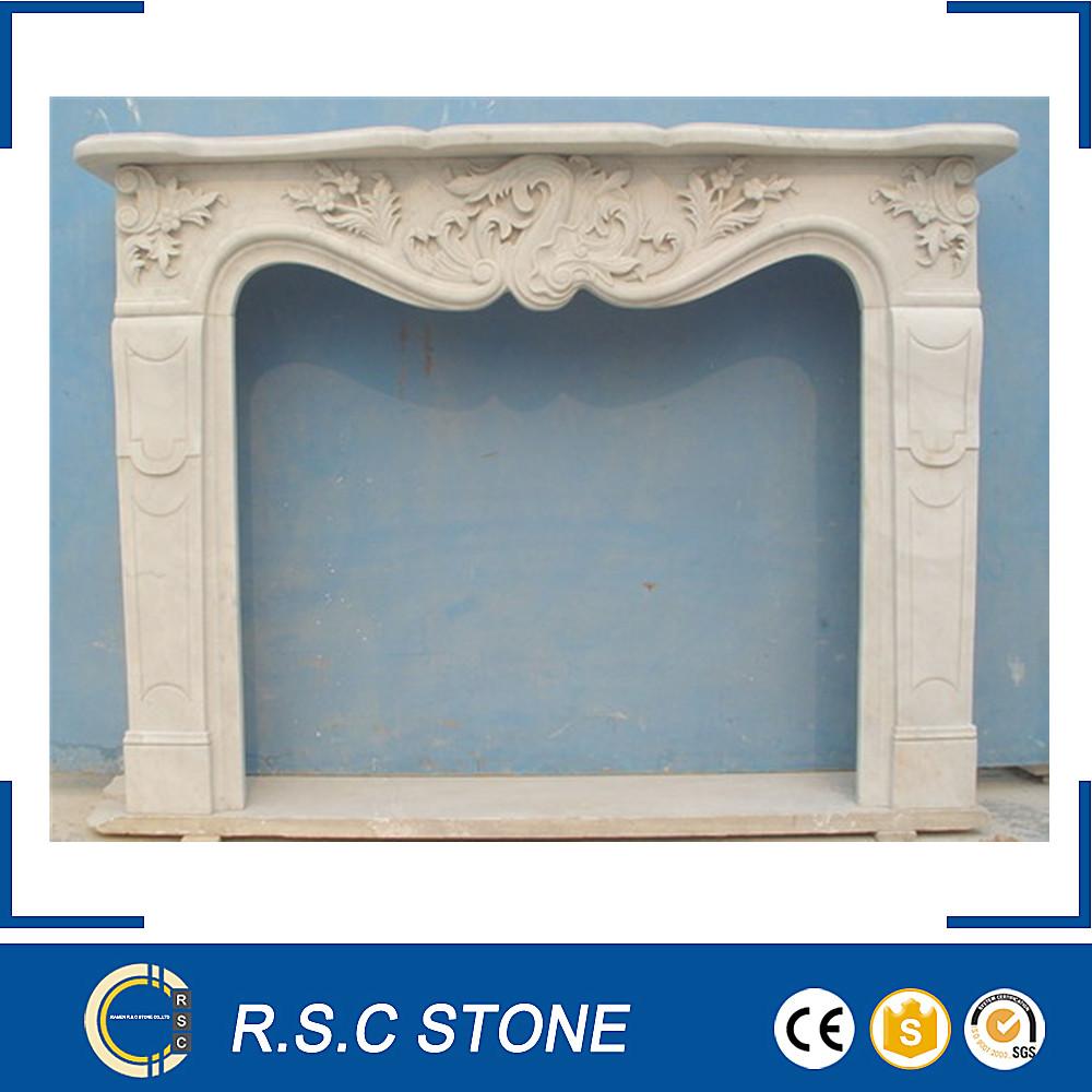 Frence estilo mano tallada repisa de la chimenea con precio competitivo Fabricantes de fabricación, proveedores, exportadores, mayoristas