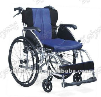 foldable aluminum light weight manual wheelchair w united brake rh alibaba com lightweight foldable manual wheelchair Ultra Lightweight Folding Wheelchair