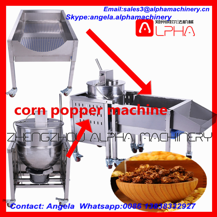 Silicone Microwave Popcorn Popper /hot Air Popcorn Machine ...