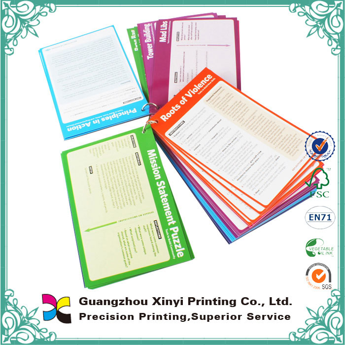 Customized Card Book Printing New Products