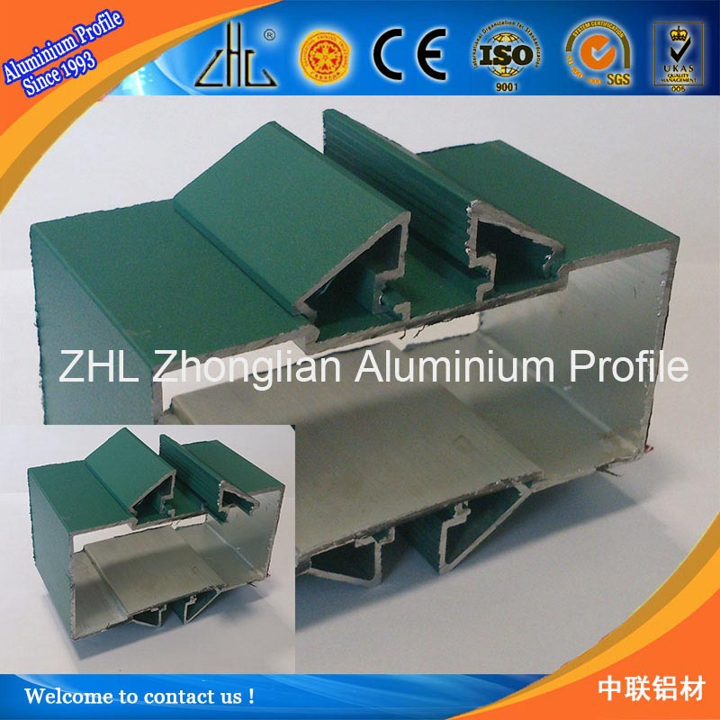 Hot! new arrival aluminium partition dubai drywall aluminium profile, glass wall system aluminium partition profile