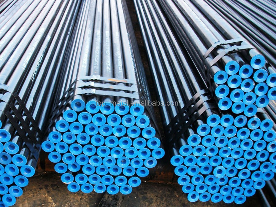 Api 5l Seamless Carbon Steel Pipe For Oil And Gas Project
