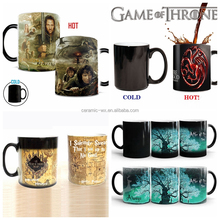 Hot sale heat sensitive magic color changing mug
