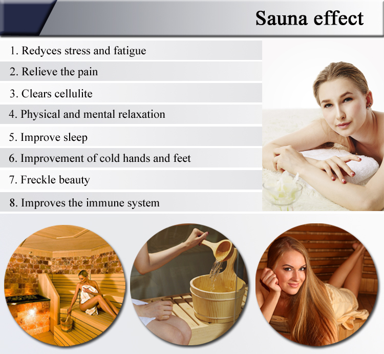 dry steam traditional sauna/ steam suana/ indoor sauna steam room