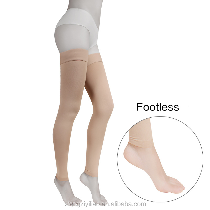 2019 Women thigh High Medical Compression varicose veins stockings Anit embolism stockings
