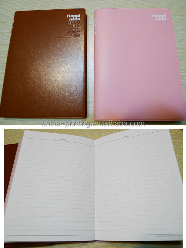 Print Cheap Bulk Blank Paper Notebook Small Recycled Brown Kraft ...