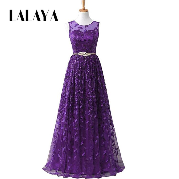 Venta al por mayor vestidos de novias con morado-Compre online los ...
