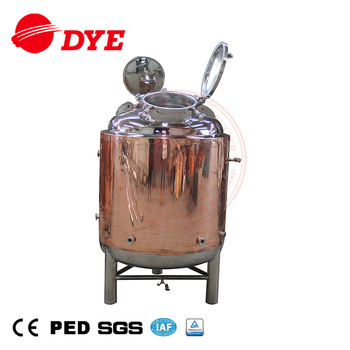 7BBL Stainless Steel Storage Bright Beer Tank with Dimple Jacket