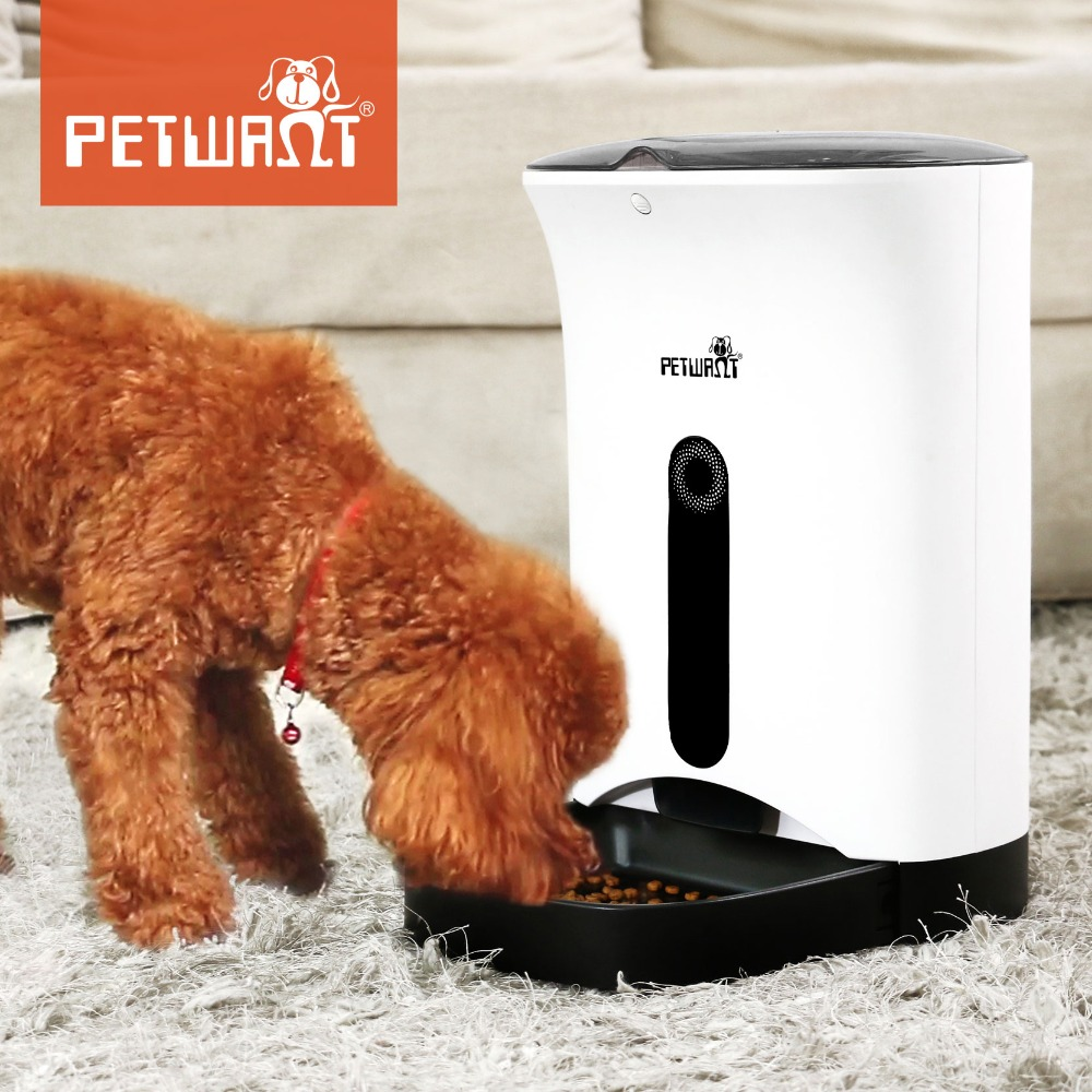 AAA Quality Automatic Pet Feeder Food Dispenser for Dogs and Cats Wholesale