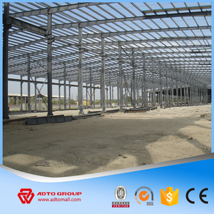 ADTO Group Steel Structure Prefabricated Construction Warehouse Building Pre-engineering Program China Construction of Houses