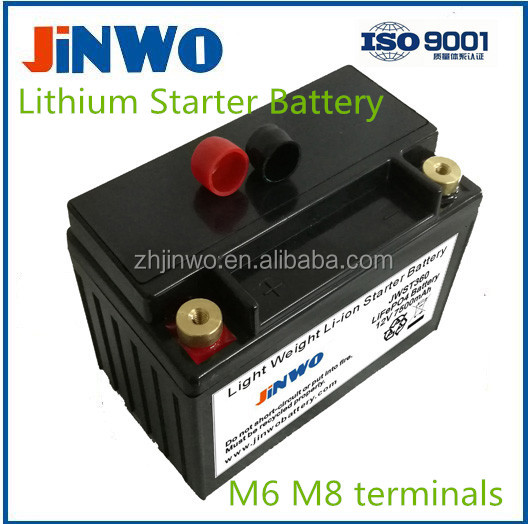 Lithium Starter Battery Li-ion Starter Battery Lithium ion Starter Battery LiFePO4 Starter Battery 12V 12.8V 13.2V Motorcycle