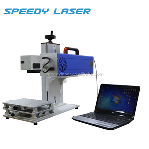 Small co2 lazer marker machine stamp maker, laser glass engraving drawing machine