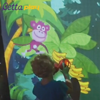 3D Interactive Floor projection system for kids play