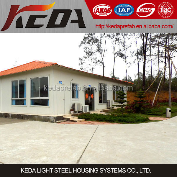 2015 Low cost small steel home design steel prefab modular house plans