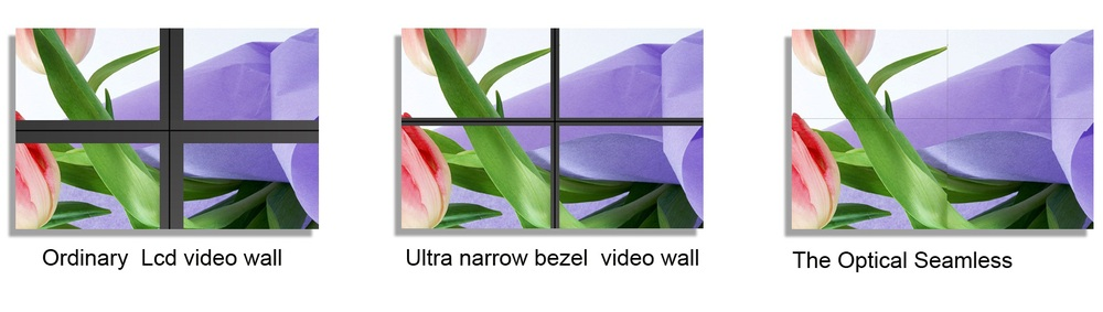New products 0MM Optical seamless splicing LCD video wall