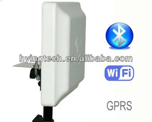 8m integrated uhf rfid reader writer with sdk, rs232, passive tag/card reader(rfid parking system)