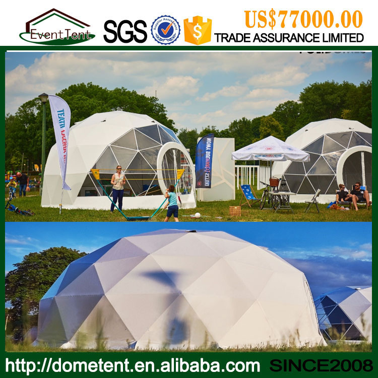 Hot Sale 6 m Diameter Small Round Tent Geodesic Dome In Park