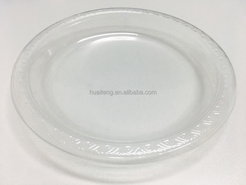 2017 wholesale hot sales new products Clear transparent plastic ps disposable plates buy direct from china & 2017 Wholesale Hot Sales New Products Clear Transparent Plastic Ps ...