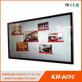 84inch Large Multi Touch Screen Monitor Wall Mounted