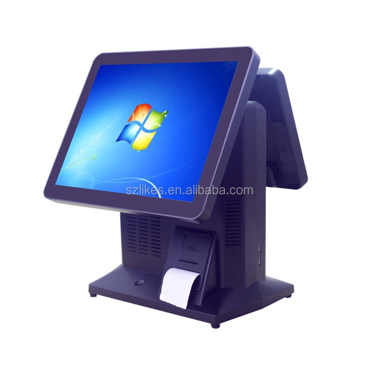 New 15 inch OEM pos terminal all in one touch screen PC desktop pos system