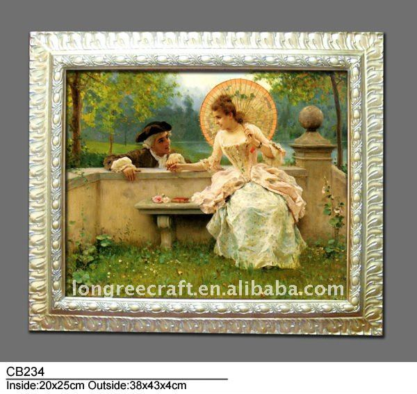 Romantic Love Discount Oil Painting