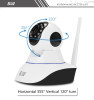 New arrival support Andirod/ IOS small wifi ip camera H.264 720P wireless hidden camera