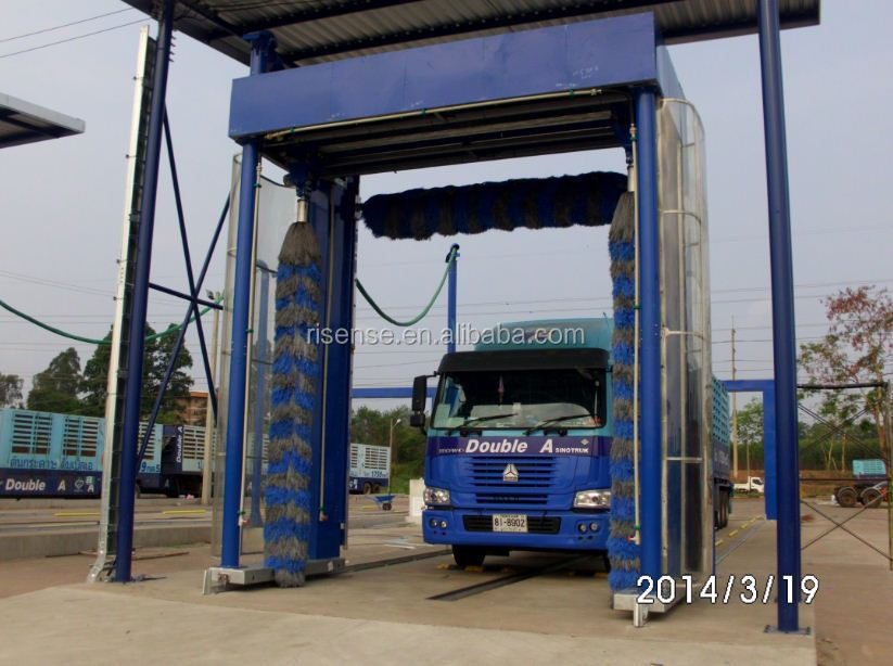 Chinese Fully Automatic,Mobile Rollover Bus And Truck Wash Machine ...