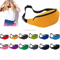 custom logo welcomed sports running bags cheap travel waist bags fanny pack