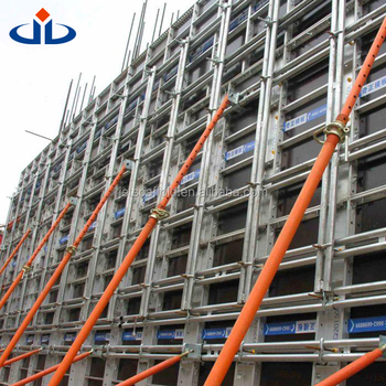 JET GROUP Formwork Clamps Aluminium Concrete Formwork High Turnover Frequency Aluminium Concrete Forms