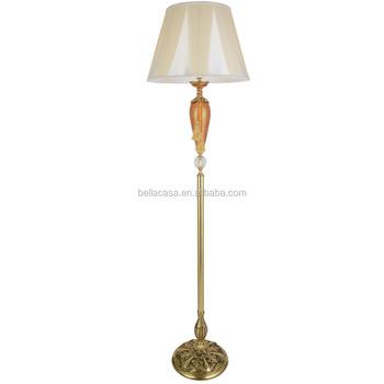 Gl Chandelier Copper Floor Lamp