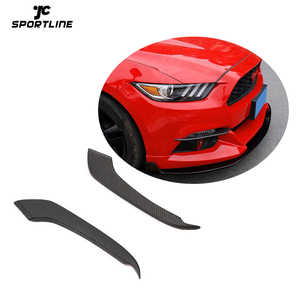 Carbon Fiber Fog Lights Cover for Ford Mustang 2015-2017