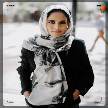 High-quality  jersey scarf  stretchy hijab plain headscarves wholesale women stoles hijab