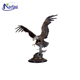 custom metal crafts bronze Eagle Sculpture for home decor NT--BS61J