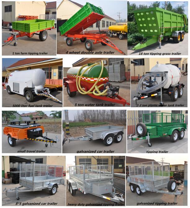 स्वचालित ढोने ट्रैक्टर खेत ट्रेलर चीन द्वारा किए गए