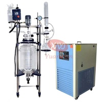 high quality customized desktop jacketed glass reactor
