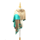 Summer Fashion 100% Silk Printed Shawl Scarf