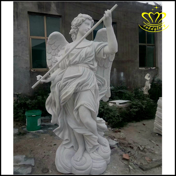 Large Stone Garden Decor Religious Items Marble Angel Statue