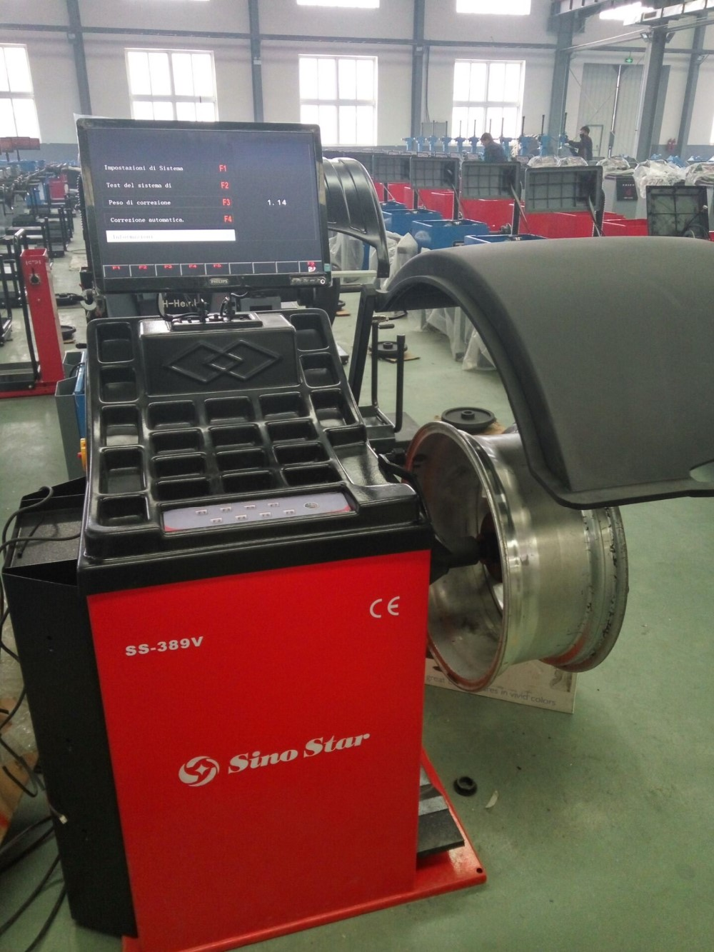 Alibaba best selling wheel balancer(SS-389V)
