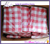 70 inch round iron-free seamless red and white checkered tablecloths-premium checkered tablceloths for Italian restaurants