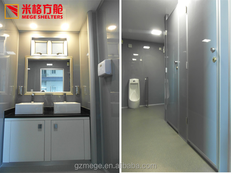 China Manufacturer Prefab Outdoor Movable Toilet with Shower room