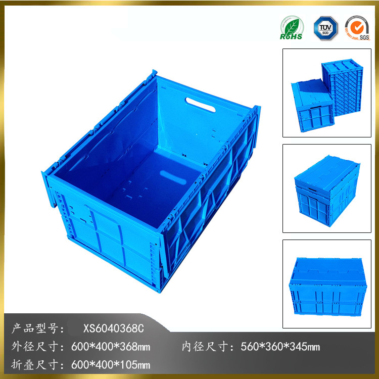disposable plastic containers stacking crate box with lids