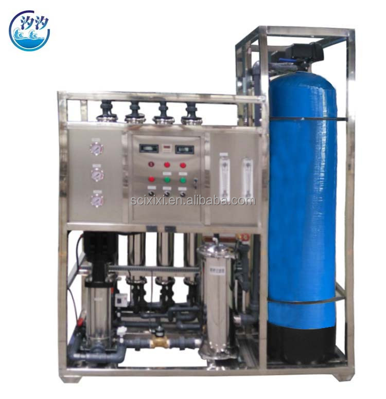 2000LPH Municipal Nano Water Purification Plants RO System