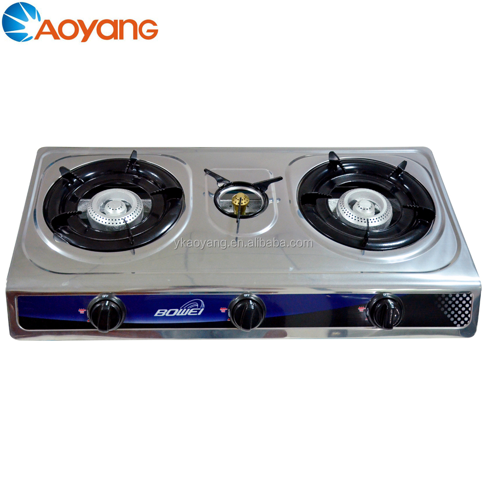 Baihe Outdoor Dualburner Camping Grillstove Portable Gas Grill